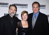 Boyd Gaines, Helen Carey and Jay O. Sanders at the curtain call of the opening night of Pygmalion.