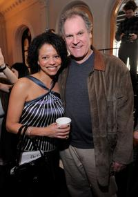 Gloria Reuben and Jay O. Sanders at the Public Theater Capital Campaign building renovations kick off.
