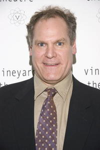 Jay O. Sanders at the benefit for the Vineyard theater.