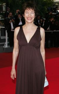 Jane Birkin at the 60th International Cannes Film Festival premiere of