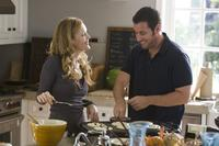 Leslie Mann and Adam Sandler in