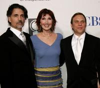 Joanna Gleason, Chris Sarandon and Norbert Leo Butz at the 59th Annual Tony Awards.
