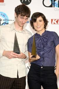 Wally De Backer and Missy Higgins at the 2007 ARIA Awards.
