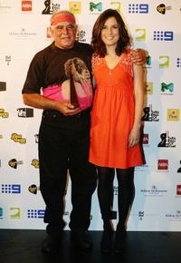 Kev Carmody and Missy Higgins at the 2009 ARIA Hall of Fame Awards.