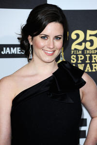 Katie Featherston at the 25th Film Independent Spirit Awards in California.