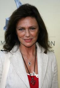Jacqueline Bisset at the BAFTA/LA-Academy of Television Arts and Sciences Tea Party.