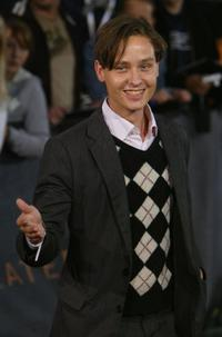 Tom Schilling at the German premiere of