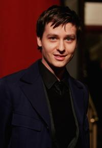 Tom Schilling at the Berlin premiere of