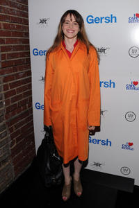 Maria Dizzia at the Gersh Agency's 2010 UpFronts and Broadway season cocktail celebration.