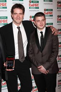 Kris Thykier and Ben Drew at the Jameson Empire Film Awards 2010.