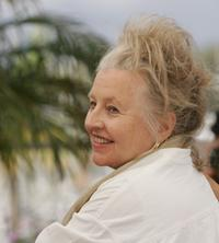 Hanna Schygulla at the photocall promoting the film