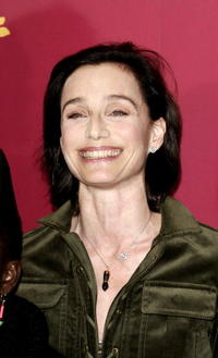 """Kristin Scott Thomas at a photocall for """"Man To Man"""" in Berlin, Germany."""