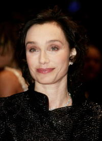 """Kristin Scott Thomas at the """"Man To Man"""" premiere in Berlin, Germany."""