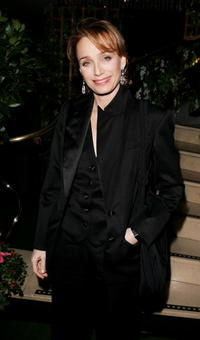 """Kristin Scott Thomas at the after show party following the UK premiere of """"Keeping Mum"""" in London, England."""
