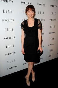Ellie Kemper at the 17th ELLE's Inaugural Women in Television Celebratory Dinner in California.