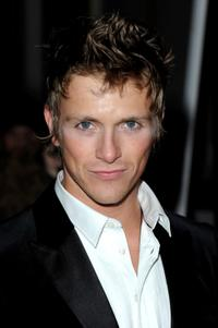 Charlie Bewley at the ELLE Style Awards 2010.