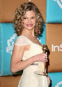 Kyra Sedgwick at the In Style Magazine and Warner Bros. Studios Golden Globe After Party.
