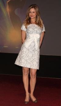 Kyra Sedgwick at the announcement of the nominees for the 59th Annual Primetime Emmy Awards.