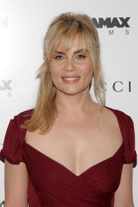 Actress Emmanuelle Seigner at the N.Y. premiere of