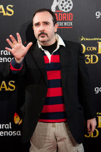 Carlos Areces at the Madrid premiere of