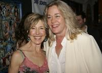 Lin Shaye and Diane Delano at the premiere of