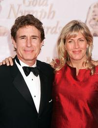 John Shea and his wife Melissa at the Gold Nymph awards during the 44th Monte-Carlo Television Festival.