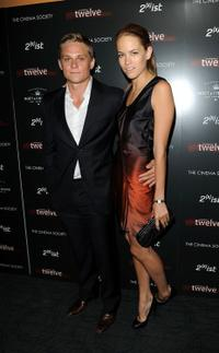 Billy Magnussen and Cody Horn at the screening of