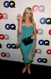 Marley Shelton at the GQ 2007 Men Of The Year celebration.