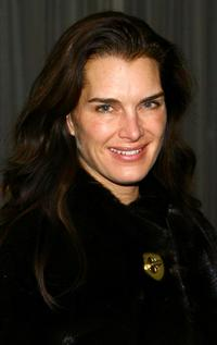 Brooke Shields at the private screening of