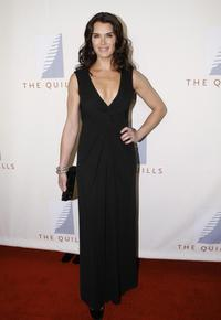 Brooke Shields at the Third Annual Quill Awards, honoring this years finest books and authors.