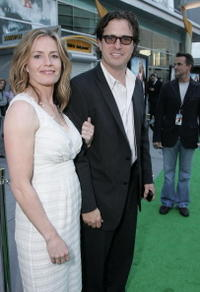 Elisabeth Shue and Davis Guggenheim at the premiere of