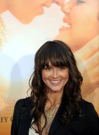 Sharni Vinson at the premiere of