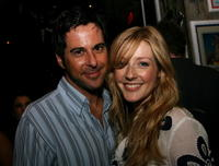 Jonathan Silverman and Jennifer Finnigan at the launch of the Pink Taco.