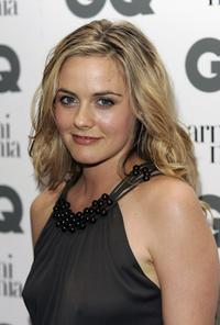 Alicia Silverstone at the GQ Men of The Year Awards.