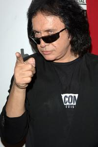 Gene Simmons at the premiere screening and party for TCM's Brando.