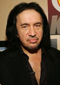 Gene Simmons at the 2005 AVN Adult Entertainment Expo.