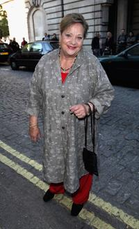 Sylvia Syms at the premiere of