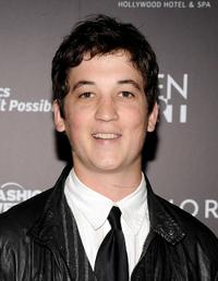 Miles Teller at the Gen Art's 12th Annual Fresh Faces In Fashion.