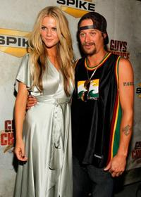 Brooklyn Decker and Kid Rock at the Spike TV's 4th Annual Guys Choice Awards.
