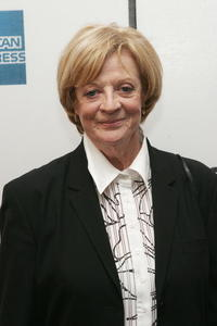 Maggie Smith at the N.Y. screening of
