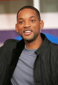 Will Smith at the taping of 106 and Park.