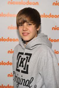 Justin Bieber at the 2010 Nickelodeon Upfront Presentation in New York City.