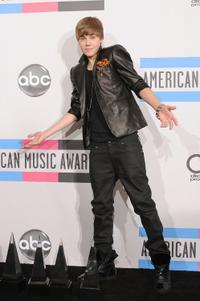 Justin Bieber at the 2010 American Music Awards.