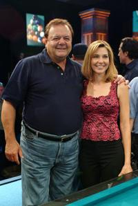 Paul Sorvino and Loree Jon Jones at the International Pool Tour World 8-Ball Championship.