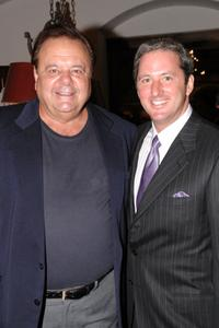 Paul Sorvino and Kevin Trudeau at the pre-party fot the International Pool Tour World 8-Ball Championship.