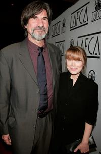 Sissy Spacek and her husband Jack Fisk at the 2007 LA Film Critics Choice Awards held at the InterContinental in Los Angeles.