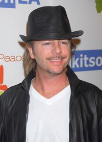 David Spade at the OmniPeace Event to stop extreme poverty in Sub-Saharan Africa by 2025.