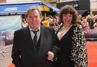 Timothy Spall and Shane Spall at the premiere of