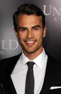 Theo James at the California premiere of