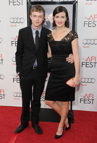 Dane DeHaan and Anna Wood at the California premiere of